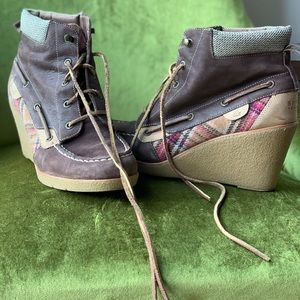 Sperry Topsider Wedged Heels, Women's size 10